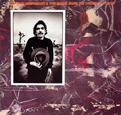 "Thumbnail of CAPTAIN BEEFHEART & HIS MAGIC BAND - Ice Cream For Crow 12"" Vinyl LP Album album front cover"