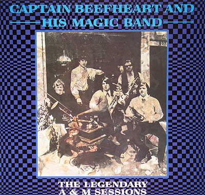 "Thumbnail of CAPTAIN BEEFHEART & HIS MAGIC BAND - The Legendary A&M Sessions 12"" Vinyl LP Album album front cover"