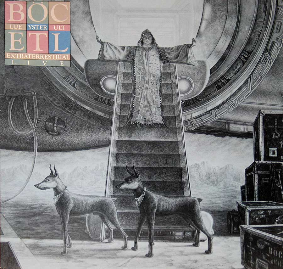 BLUE OYSTER CULT - Extraterrestrial Live 2LP Vinyl Album  front cover https://vinyl-records.nl