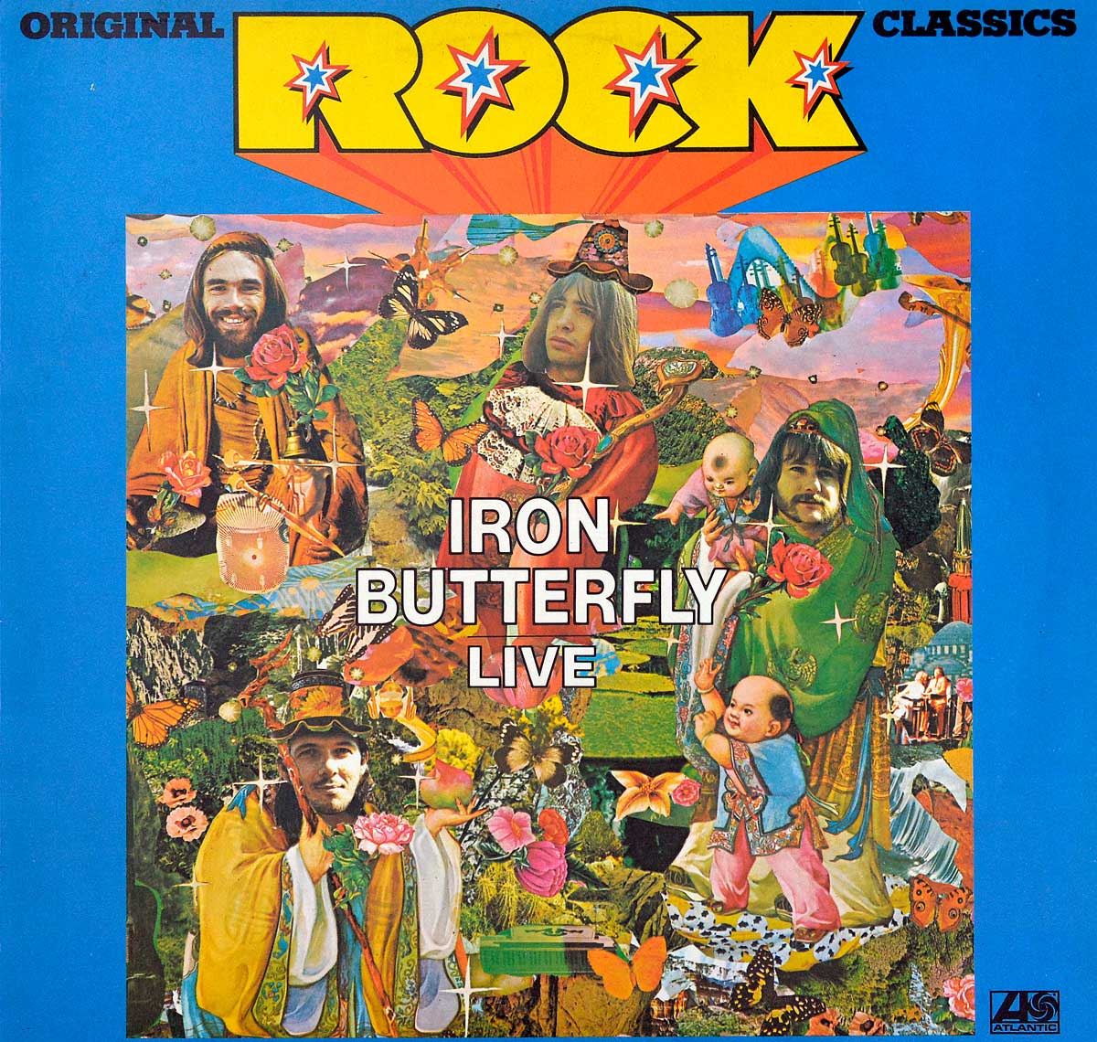 Album Front Cover Photo of IRON BUTTERFLY - Live (Rock Classics)