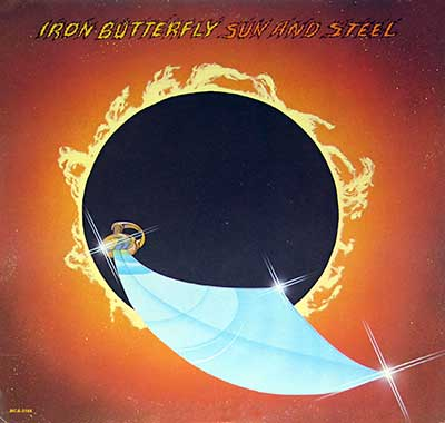 "Thumbnail Of  IRON BUTTERFLY - Sun and Steel 12"" Vinyl LP album front cover"