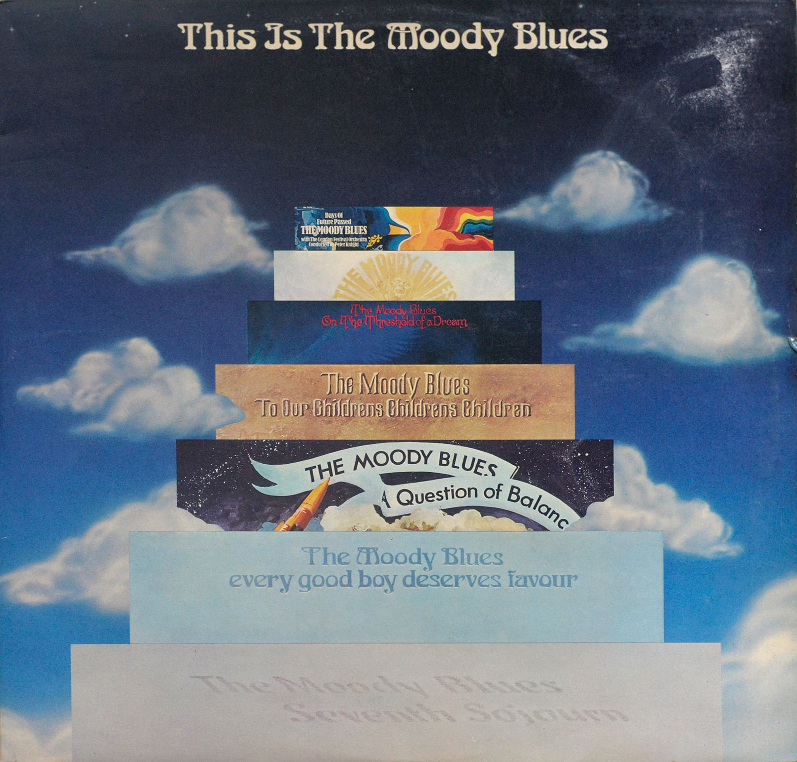 Album Front Cover Photo of Moody Blues – This Is The Moody Blues ( UK Pressing )