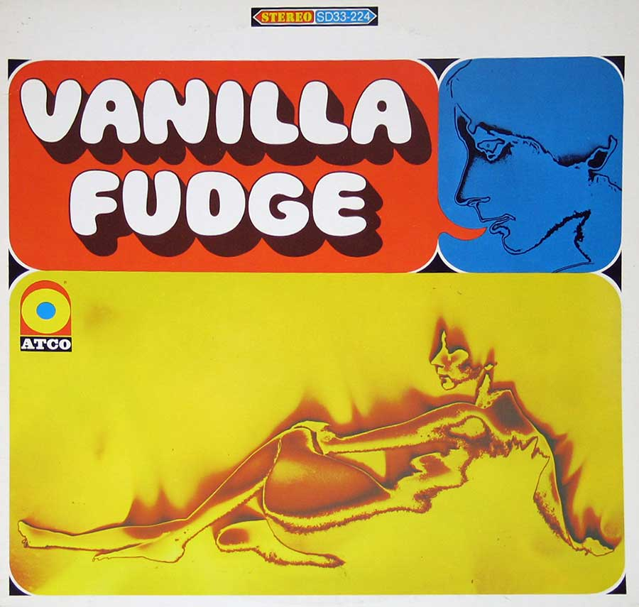 "VANILLA FUDGE - S/T Self-Titled 12"" VINYL LP ALBUM front cover https://vinyl-records.nl"