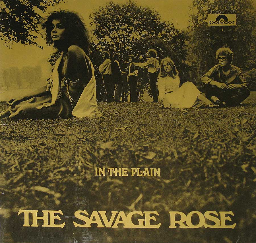 "Front Cover Photo Of SAVAGE ROSE - In The Plain 12"" Vinyl LP Album"