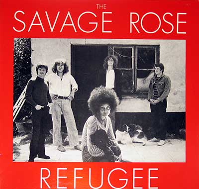 "Thumbnail of SAVAGE ROSE - Refugee 12"" Vinyl LP Album  album front cover"