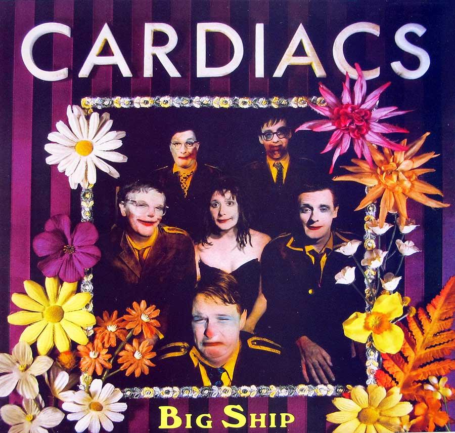 """CARDIACS - Big Ship incl Insert 12"""" LP Vinyl Album front cover https://vinyl-records.nl"""