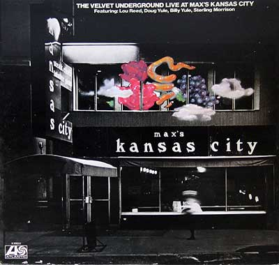 "Thumbnail of THE VELVET UNDERGROUND - Live At Max's Kansas City 12"" Vinyl LP Album  album front cover"