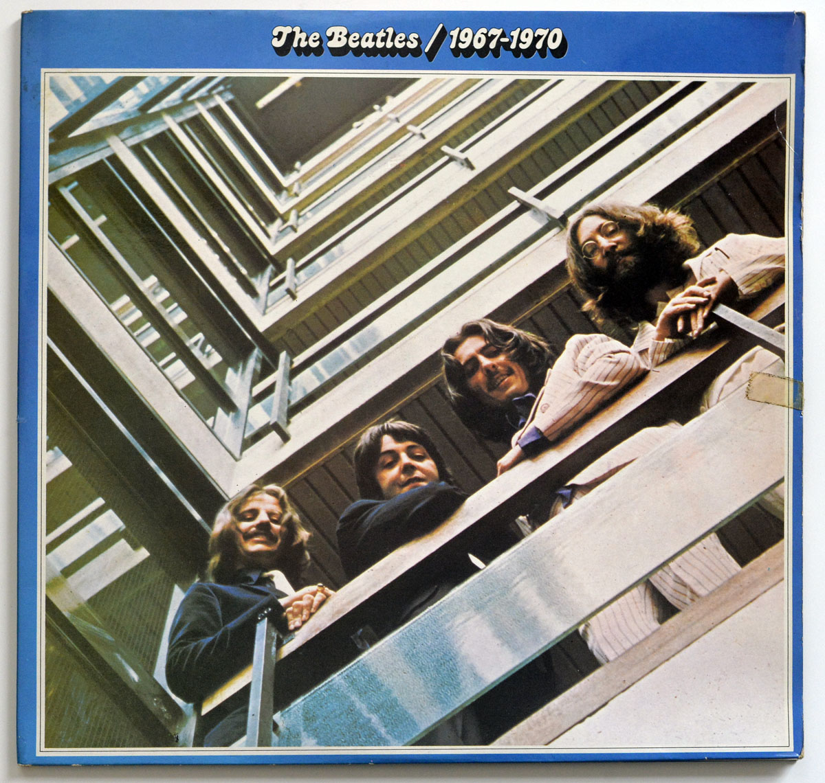 High Resolution Photo THE BEATLES 1967-1970 ( Blue Album Gatefold Cover )