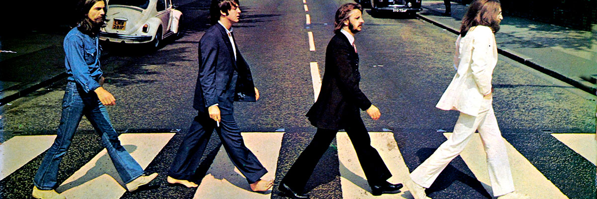 Album Front Cover Photo of The Beatles
