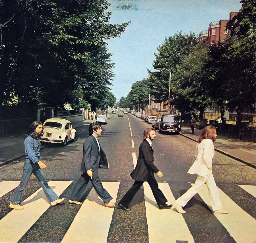 Album cover photos of : Beatles Abbey Road (Italy)