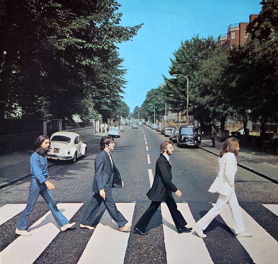 Album cover photos of : Beatles Abbey Road 1st Issue