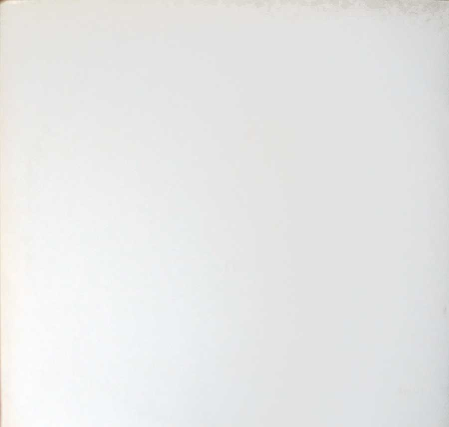 large photo of the album front cover of: THE BEATLES - White Album