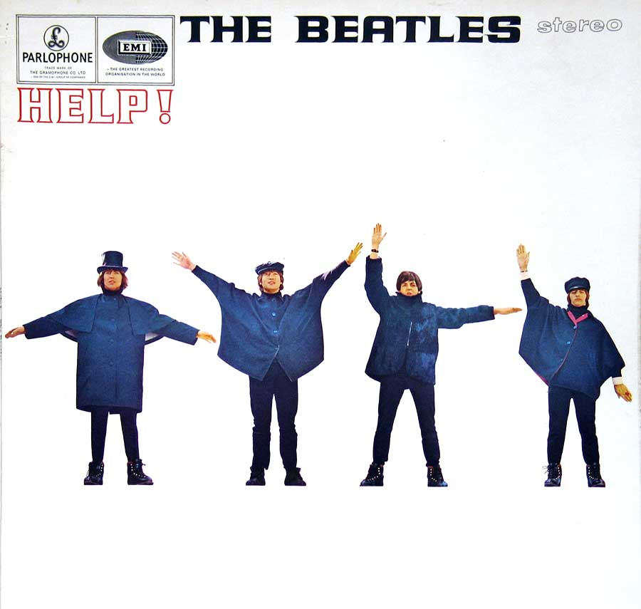 Album Front Cover Photo of BEATLES - Help!