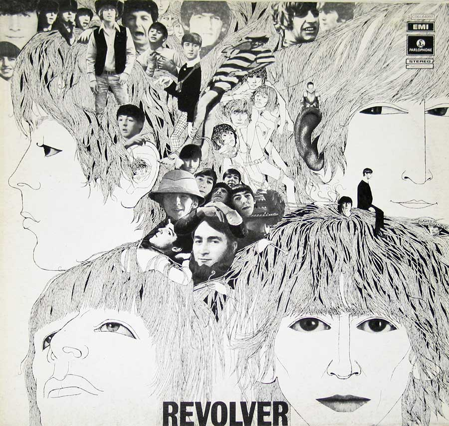 "Front Cover Photo Of BEATLES - Revolver Italian Release 12"" VINYL LP ALBUM"
