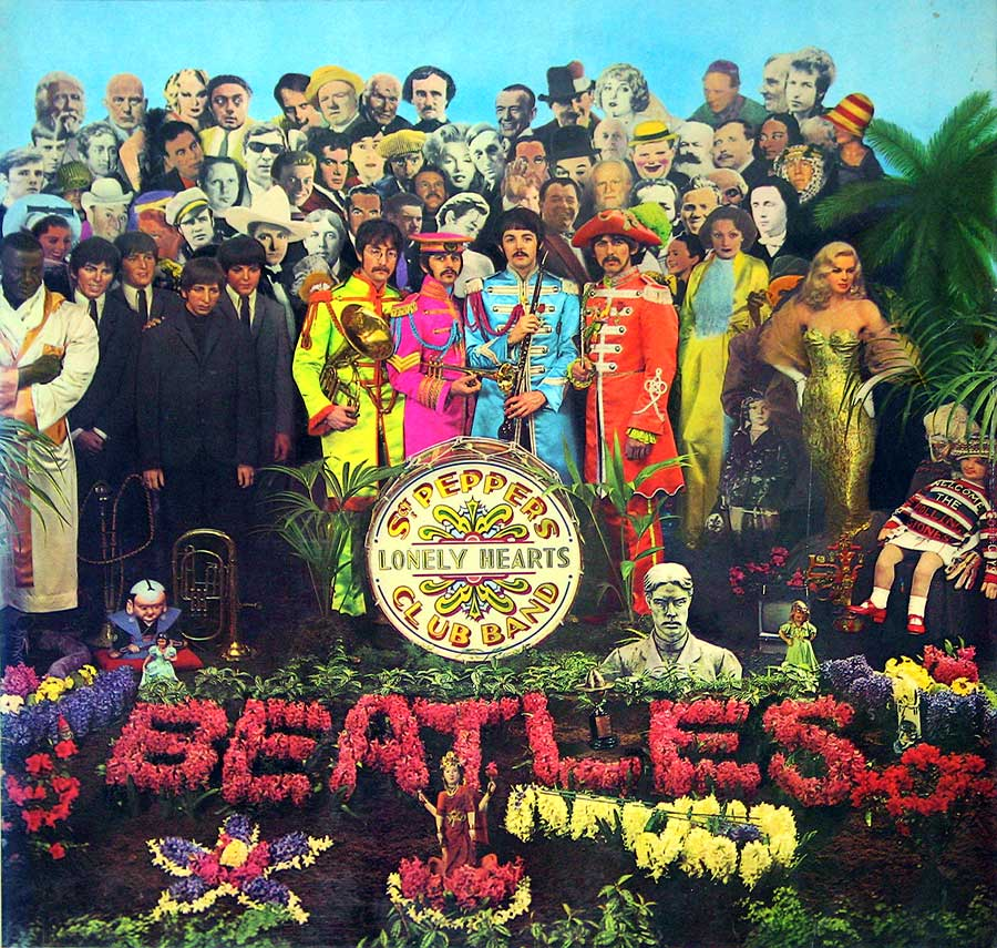 Front Cover Photo Of BEATLES Sgt Pepper's Lonely Hearts Club Band ( France )