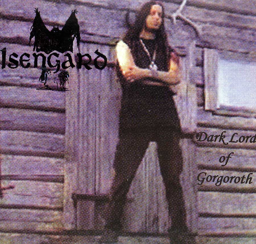 Front Cover Photo Of ISENGARD - Dark Lord of Gorgoroth Demo August 1989