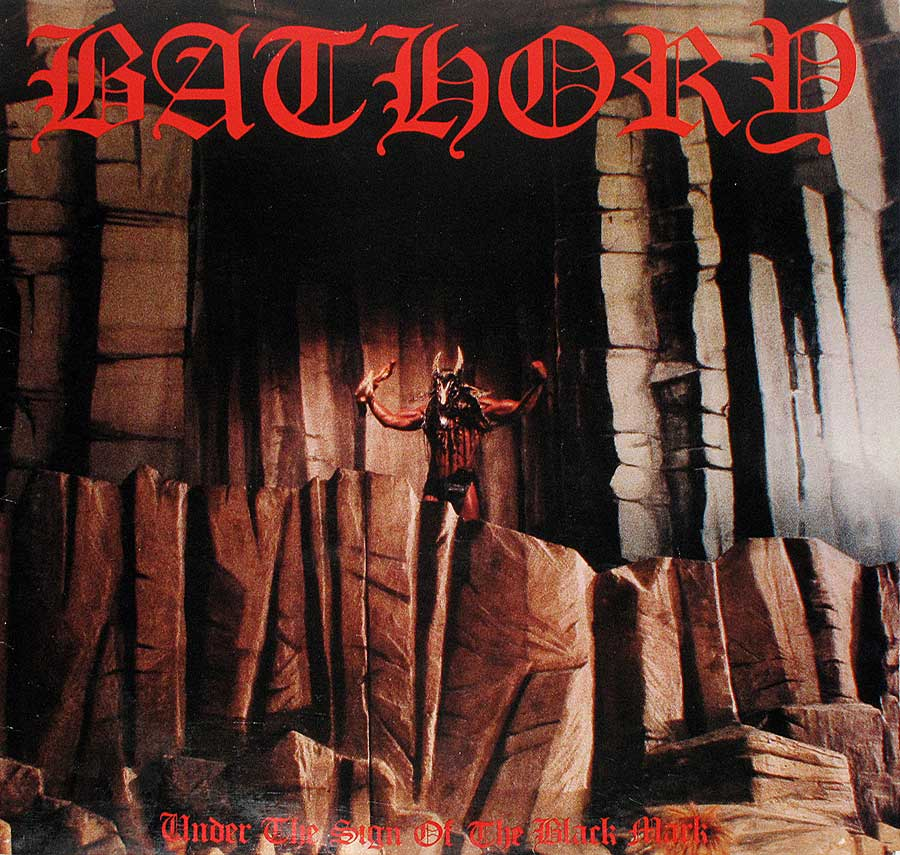 Album Front Cover Photo of BATHORY - UNDER THE SIGN OF THE BLACK MARK