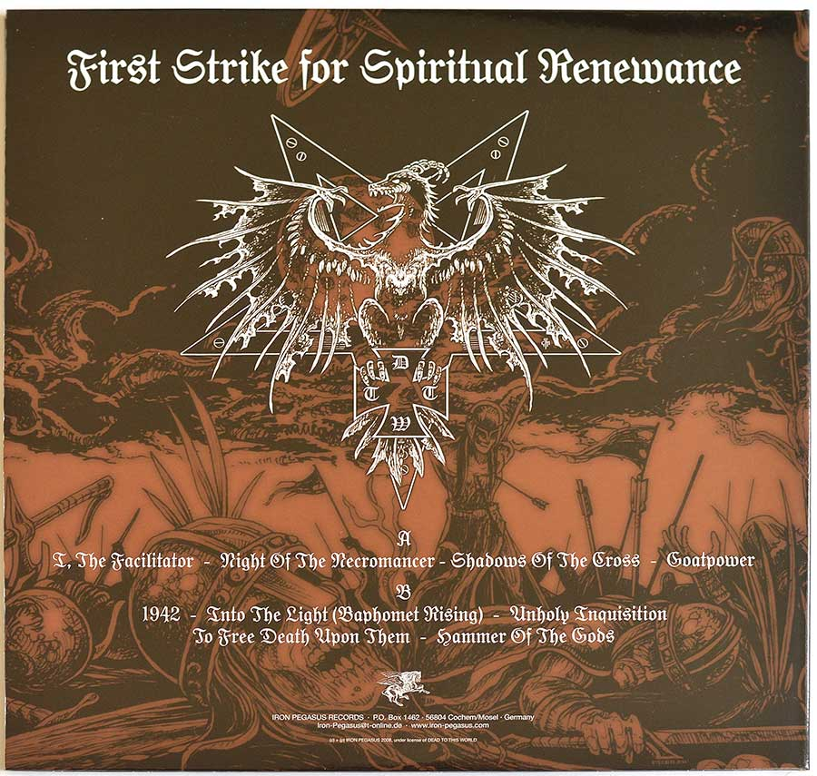 High Resolution Photo #11 DEAD TO THIS WORLD - First Strike for Spiritual Renewance
