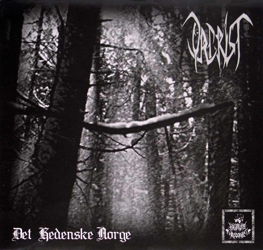 """ISVIND / ORCRIST - Det hedenske Norge / Limited Edition 7"""" Vinyl Single front cover https://vinyl-records.nl"""