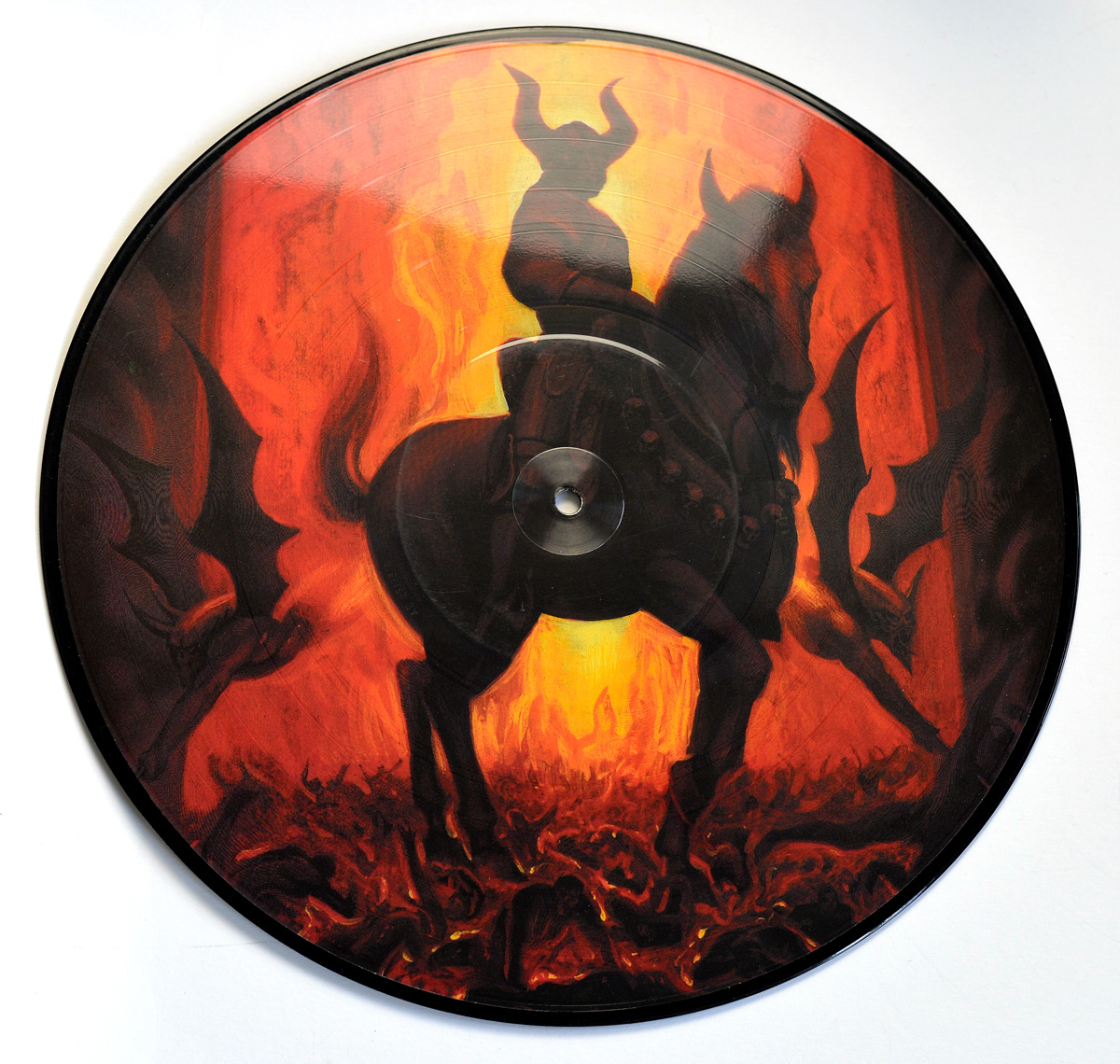 Front Cover Photo Of MARDUK - Infernal Eternal Picture Disc