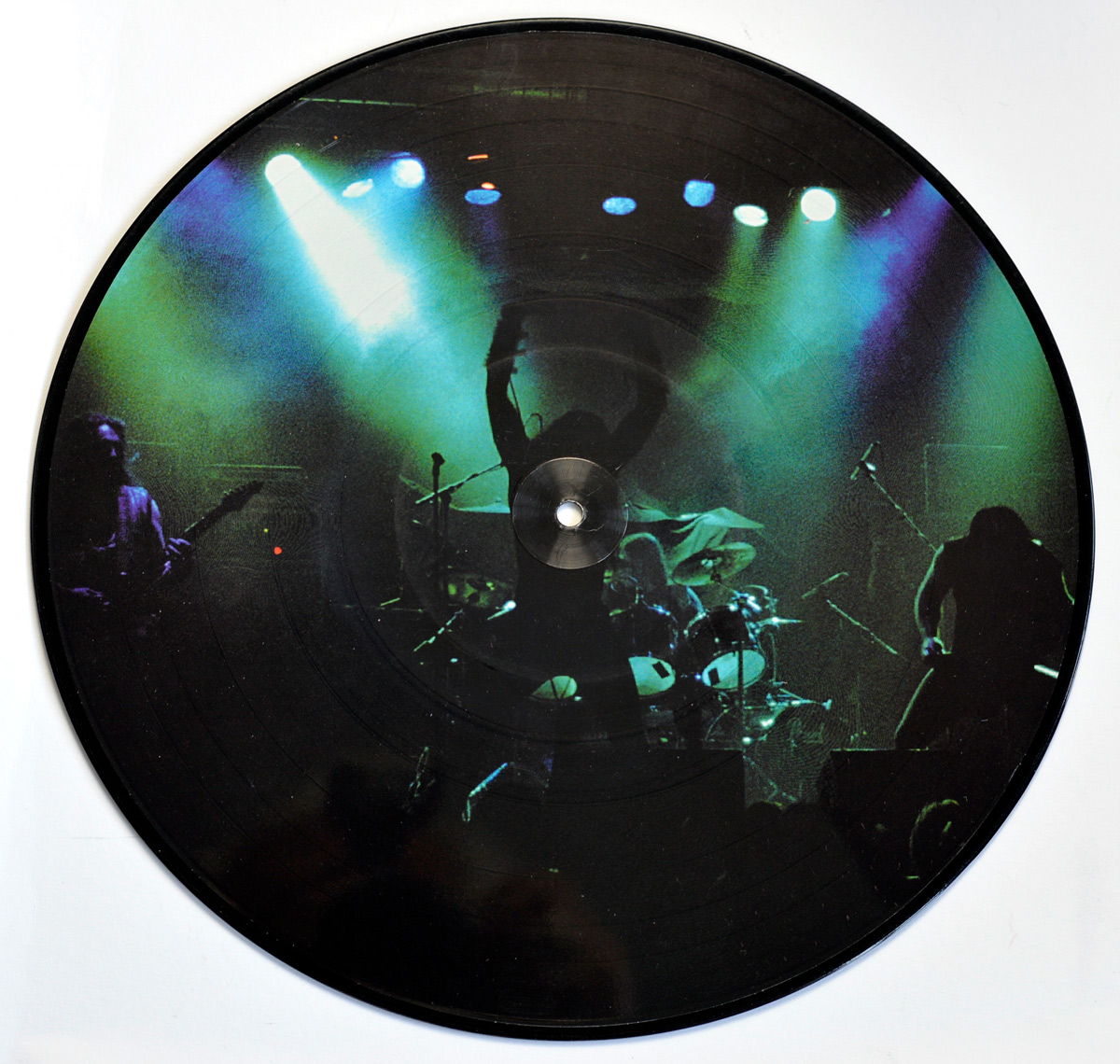 Photo of album back cover MARDUK - Infernal Eternal Picture Disc