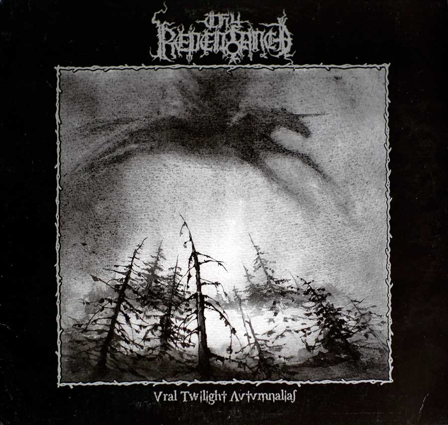 Front Cover Photo Of THY REPENTANCE - Ural Twilight Autumnalias