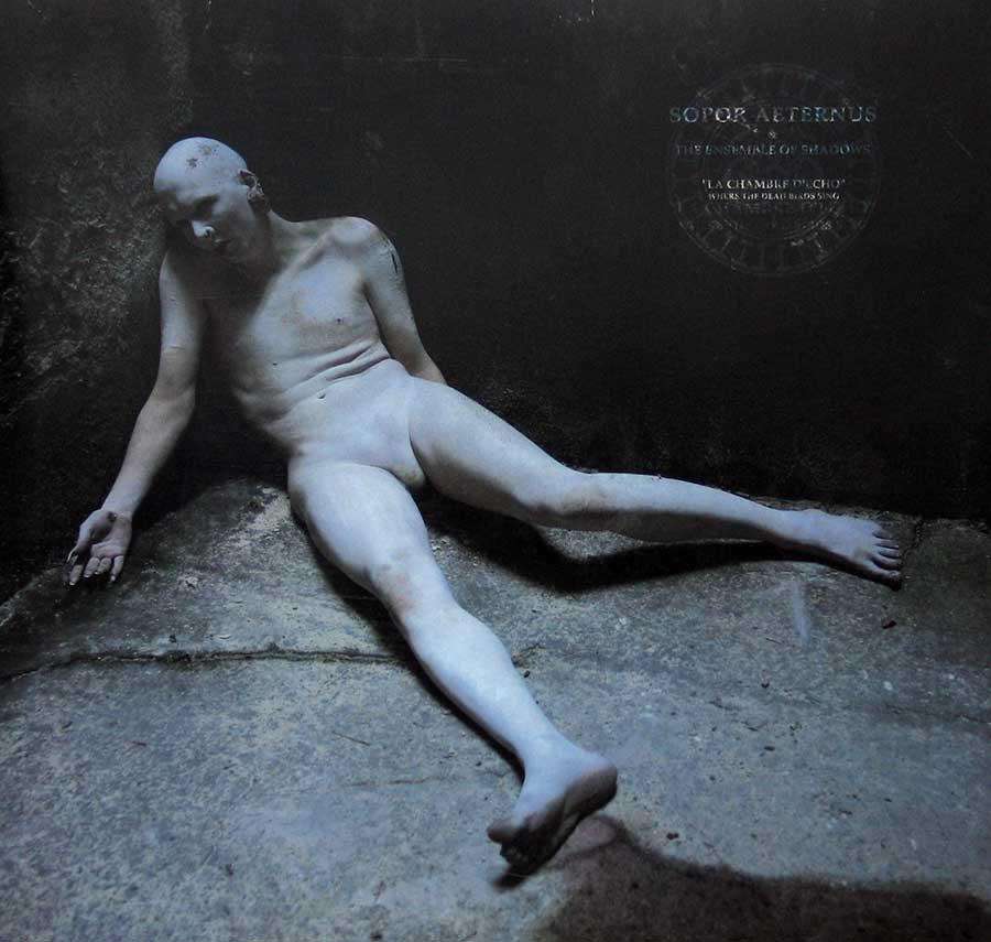"SOPOR AETERNUS - La Chambre d'Echo Anna Varney 12"" Vinyl Picture Disc LP Album front cover https://vinyl-records.nl"