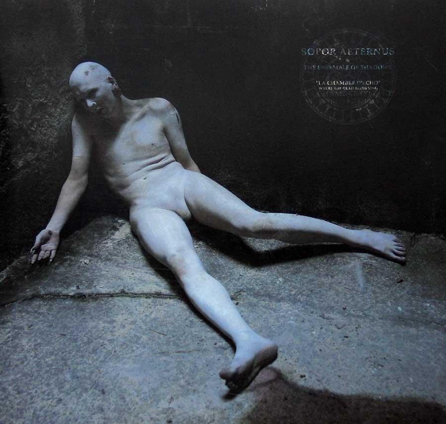 """SOPOR AETERNUS - La Chambre d'Echo Anna Varney 12"""" Vinyl Picture Disc LP Album front cover https://vinyl-records.nl"""