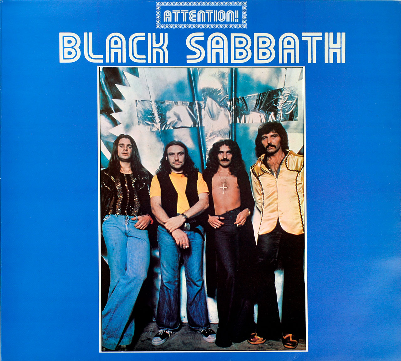 "BLACK SABBATH - Attention! Volume Two ( 1975, UK )  12"" LP"