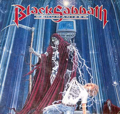 Thumbnail Of  BLACK SABBATH - Dehumanizer album front cover