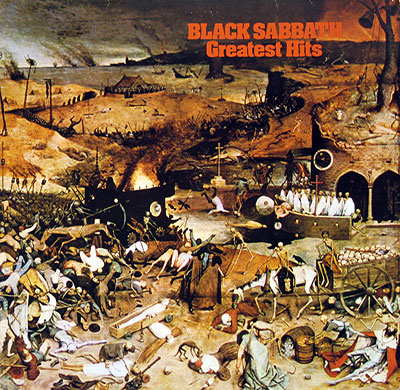 Thumbnail Of  BLACK SABBATH - Greatest Hits album front cover