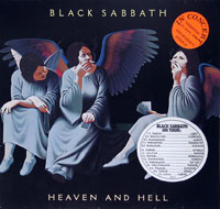 Thumbnail Of  BLACK SABBATH - Heaven and Hell  album front cover