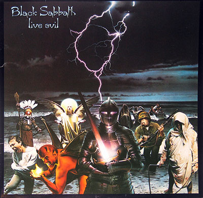 Thumbnail Of  BLACK SABBATH - Live Evil 2LP Netherlands album front cover