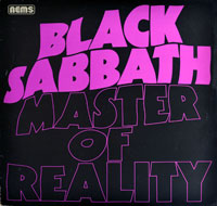 Thumbnail Of  BLACK SABBATH - Master of Reality album front cover