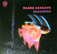 Thumbnail Of  BLACK SABBATH - Paranoid ( Gt. Britain ) album front cover