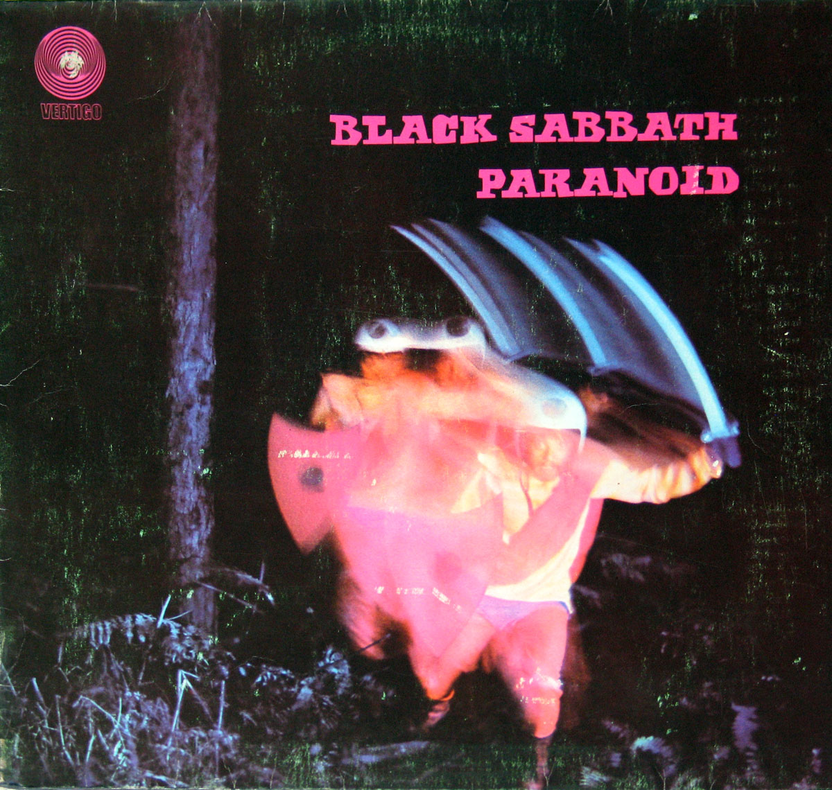 High Resolution Photo black sabbath paranoid germany
