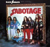 Thumbnail Of  BLACK SABBATH - Sabotage  album front cover