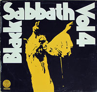 Thumbnail Of  BLACK SABBATH - Vol 4 ( France )  album front cover