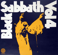 Thumbnail Of  BLACK SABBATH - Vol 4 ( 1972 ) album front cover