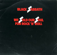 Thumbnail Of  BLACK SABBATH - We Sold Our Soul for Rock and Roll album front cover