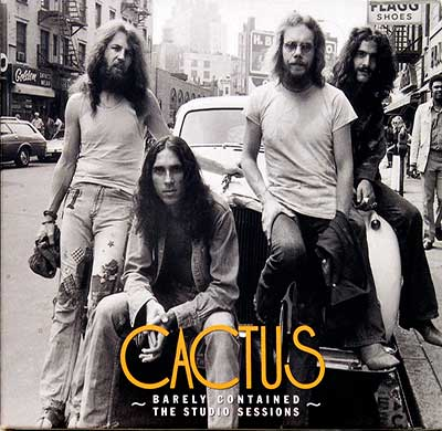 Thumbnail of CACTUS Barely Contained – The Studio Sessions 2CD Limited Edition album front cover