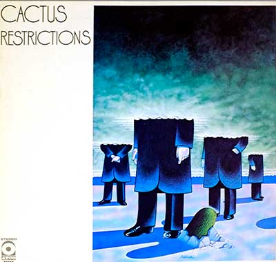 "CACTUS -  Restrictions ( France ) 12"" LP"