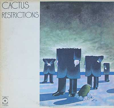 "CACTUS -  Restrictions ( USA )  12"" LP"