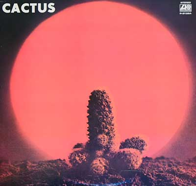 "CACTUS - Self-Titled ( JAPAN ) 12"" LP"