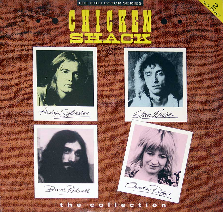 "CHICKEN SHACK - The Collection with Stan Webb 12"" Vinyl LP Album front cover https://vinyl-records.nl"