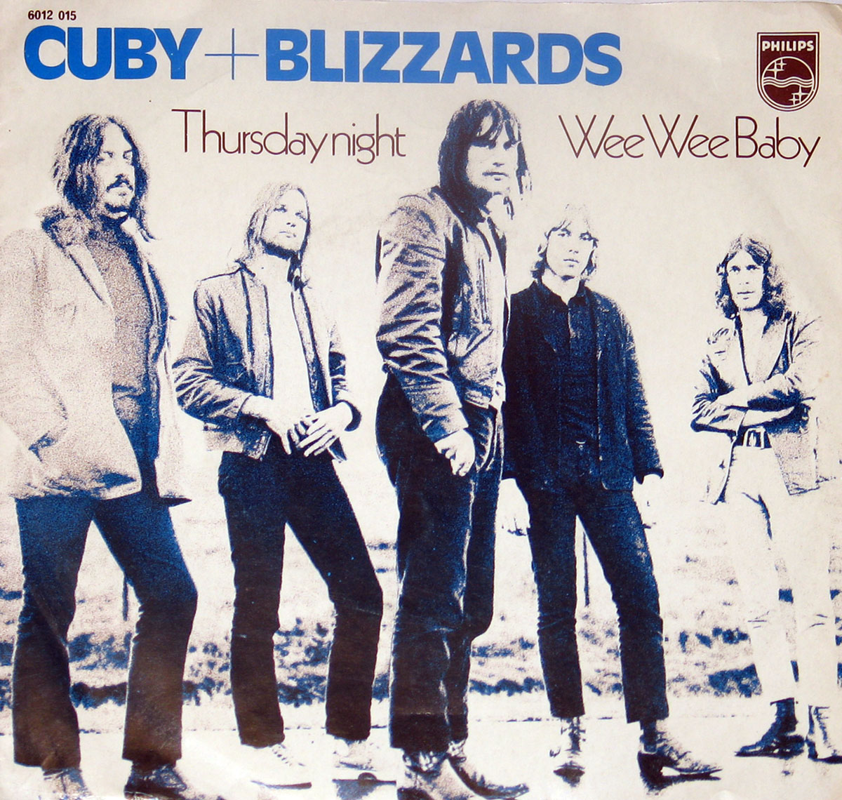 High Resolution Photo CUBY + BLIZZARDS Thursday Night / Wee Wee Baby Vinyl Record