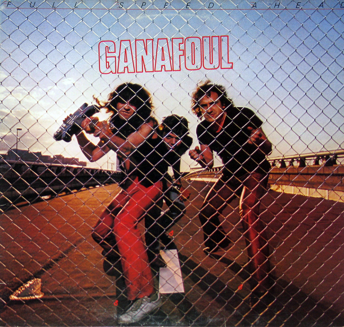 High Resolution Photo # GANAFOUL Full Speed Ahead Vinyl Record