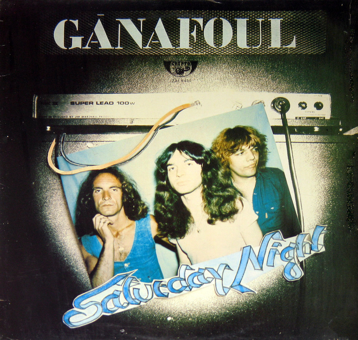 High Resolution Photo #1 GANAFOUL Saturday Night Vinyl Record