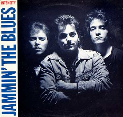 "Thumbnail Of  JAMMIN' THE BLUES - Intensity (Switzerland) 12"" Vinyl LP album front cover"