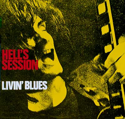 Picture Of  LIVIN' BLUES - Hell's Session album front cover